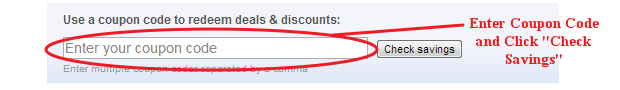 Expedia Coupon Code Field