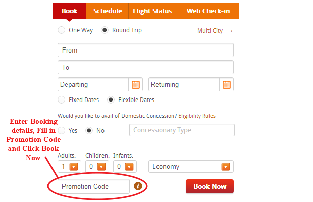 Air India Coupons, Promotion Code