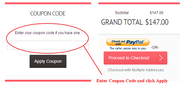 Barcode91 Coupon Code Field